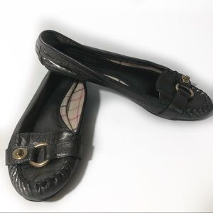 Coach Orchid Pewter Loafers